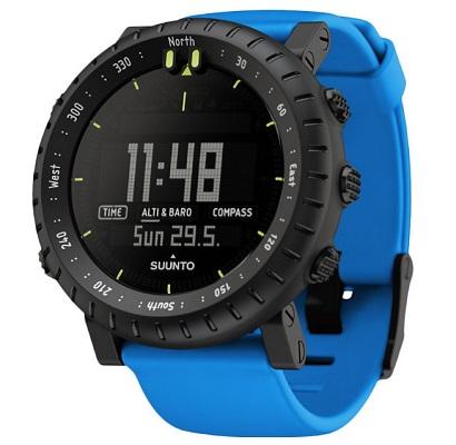 Zegarki sportowe - na zdjęciu model Suunto Core Blue Crush SS021373000 z wysokościomierzem.